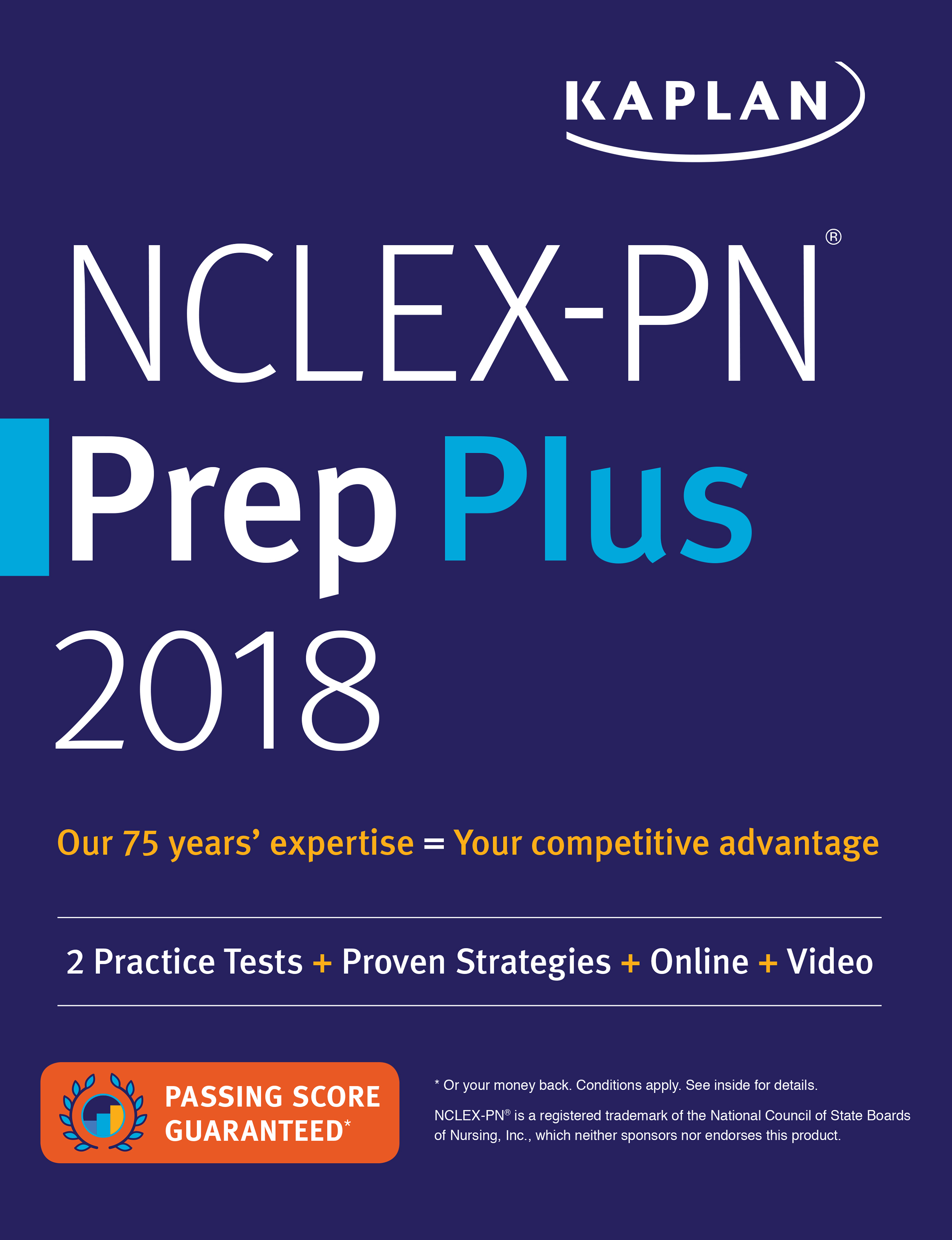 Nclex pn review books nclex pn study books kaplan test prep in addition to full length practice tests our test prep books include content reviews for each section of the test and offer some of our best test taking fandeluxe Image collections