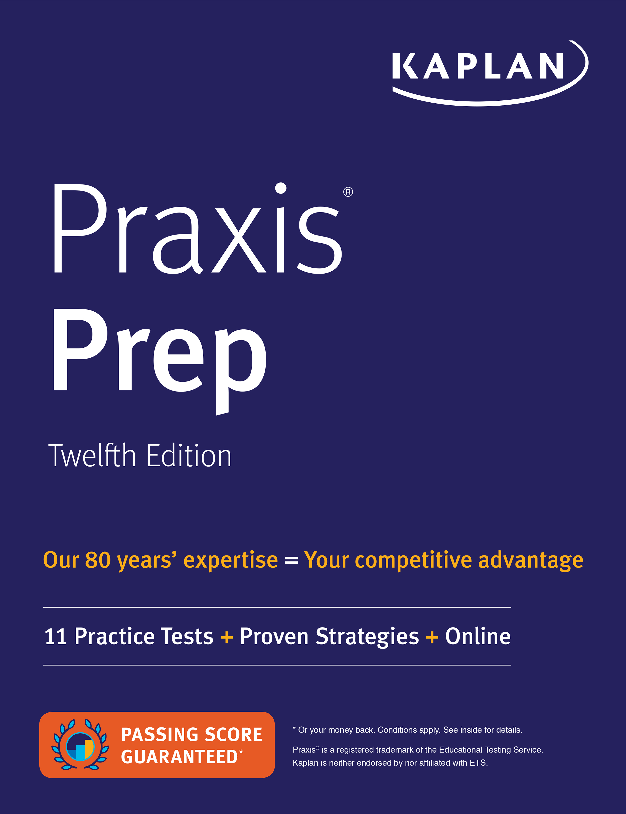 Praxis Prep, 12th edition