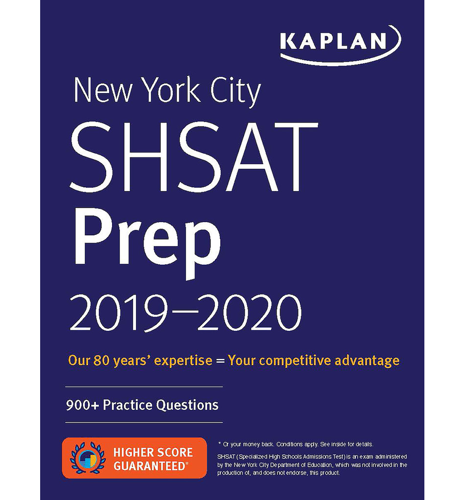 photograph relating to Shsat Practice Test Printable known as SHSAT Significant College Admissions Textbooks
