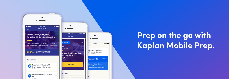 Kaplan Mobile Prep | Study App | Kaplan Test Prep