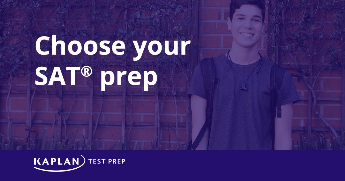 SAT Prep - Courses & Test Prep | Kaplan Test Prep