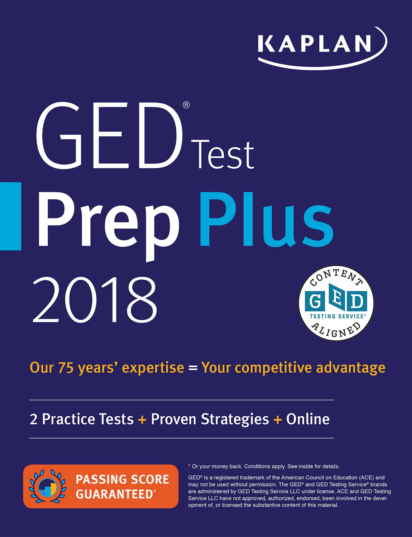 Ged Books Ged Prep Books Kaplan Test Prep