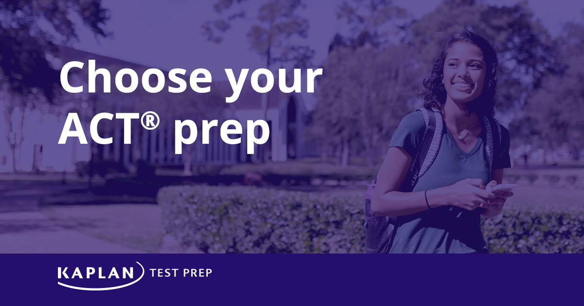 Act Prep Courses Online Test Prep Kaplan Test Prep